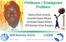 Aliou Niang, Senegal (Professor Universitat HA)