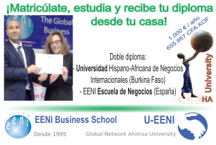 Estudiant EENI (Escola de Negocis) - Universitat HA