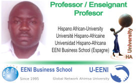 Prosper Kemayou, Chad (Professor Universitat HA)